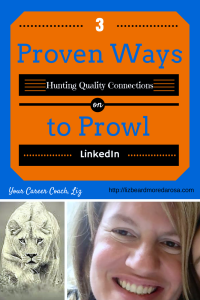 3 Proven Ways to Prowl - Hunting Quality Connections on LinkedIn