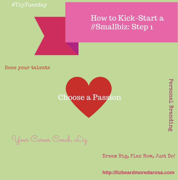 Kick-Start a Smallbiz - Step 1